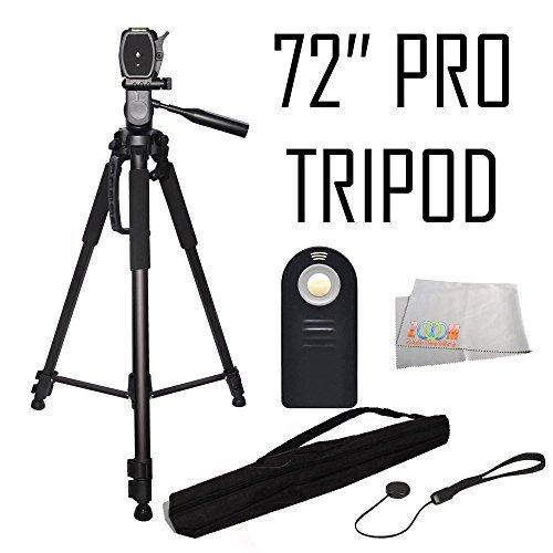 Professional 72-inch Tripod 3-