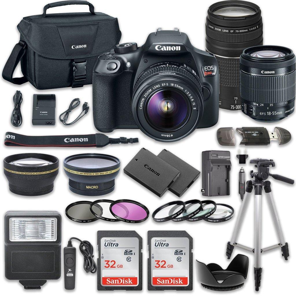 Canon EOS Rebel T6/1300d Camer