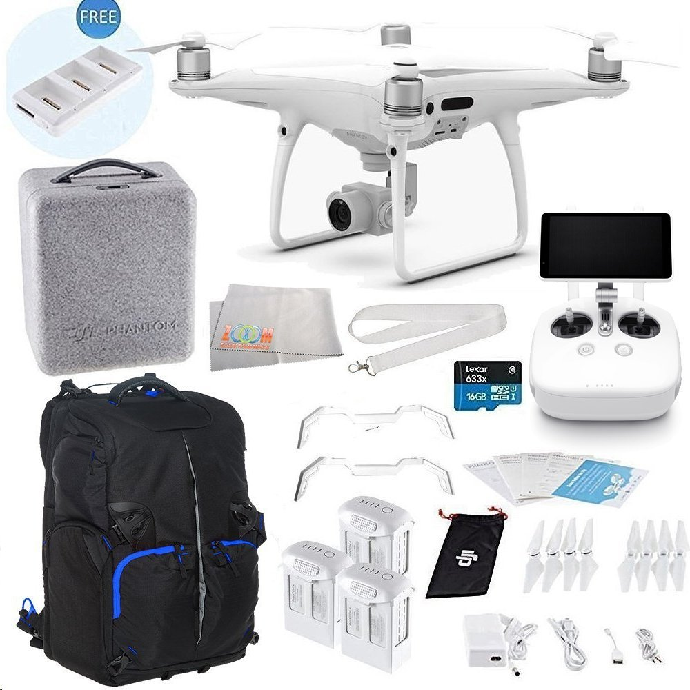 DJI Phantom 4 PRO+ Plus Quadcopter Ultimate Backpack Bundle