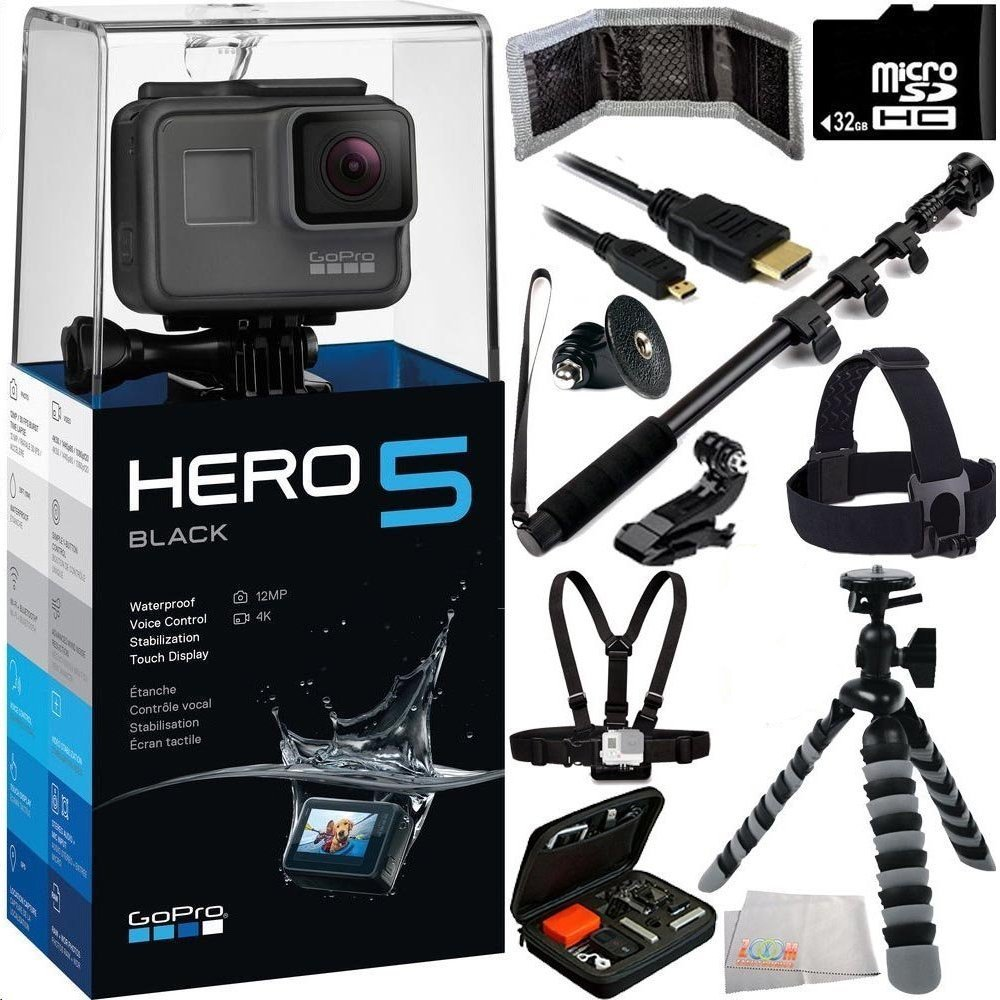 GoPro HERO5 Black 32GB Bundle