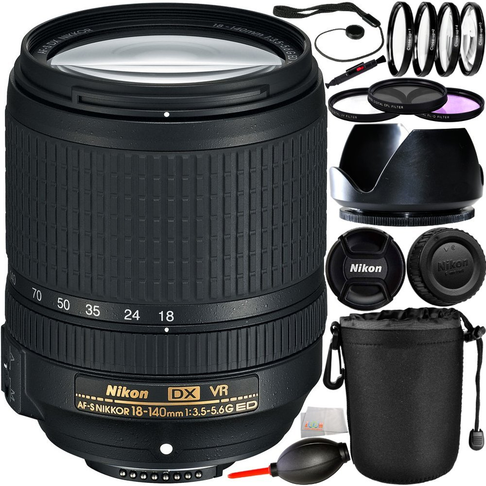 Nikon 18-140mm F/3.5-5.6G ED V