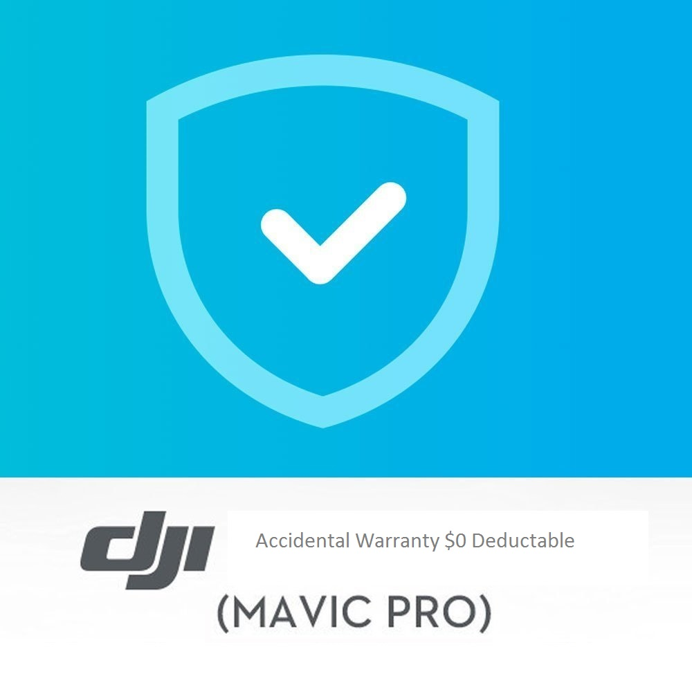 Drone 2 Year Accidental Warranty for DJI Mavic Pro