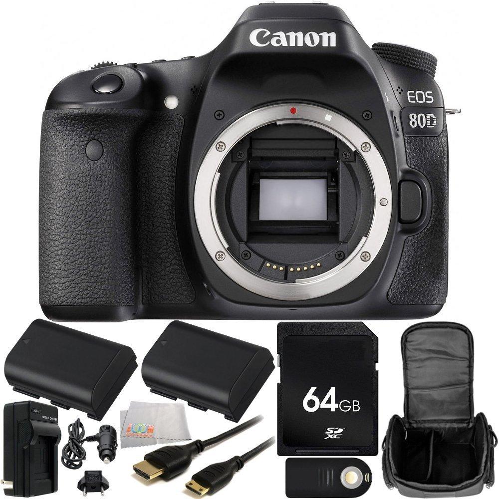 Canon EOS 80D DSLR Camera (Bod