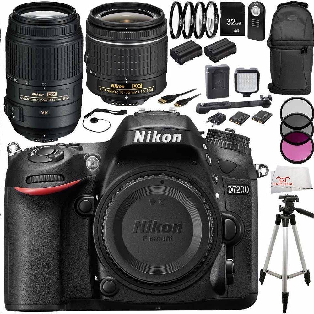 Nikon D7200 DSLR w/ Nikon 18-5
