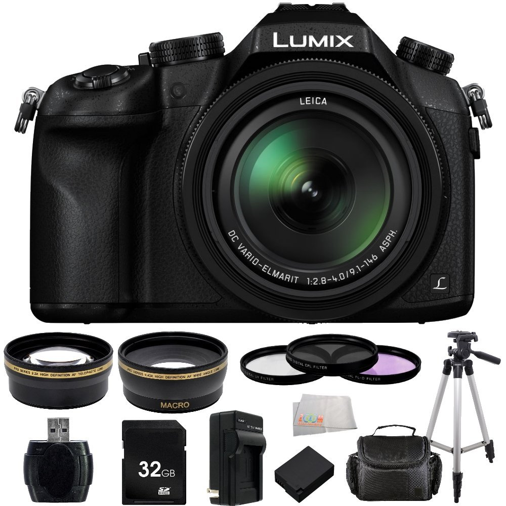Panasonic Lumix DMC-FZ1000 4K