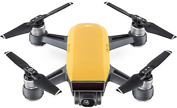 DJI Spark Quadcopter (Sunrise Yellow)