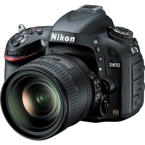 Nikon D610 DSLR Camera with 24