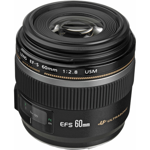 Canon EF lens EF-S60mm F2.8 Ma