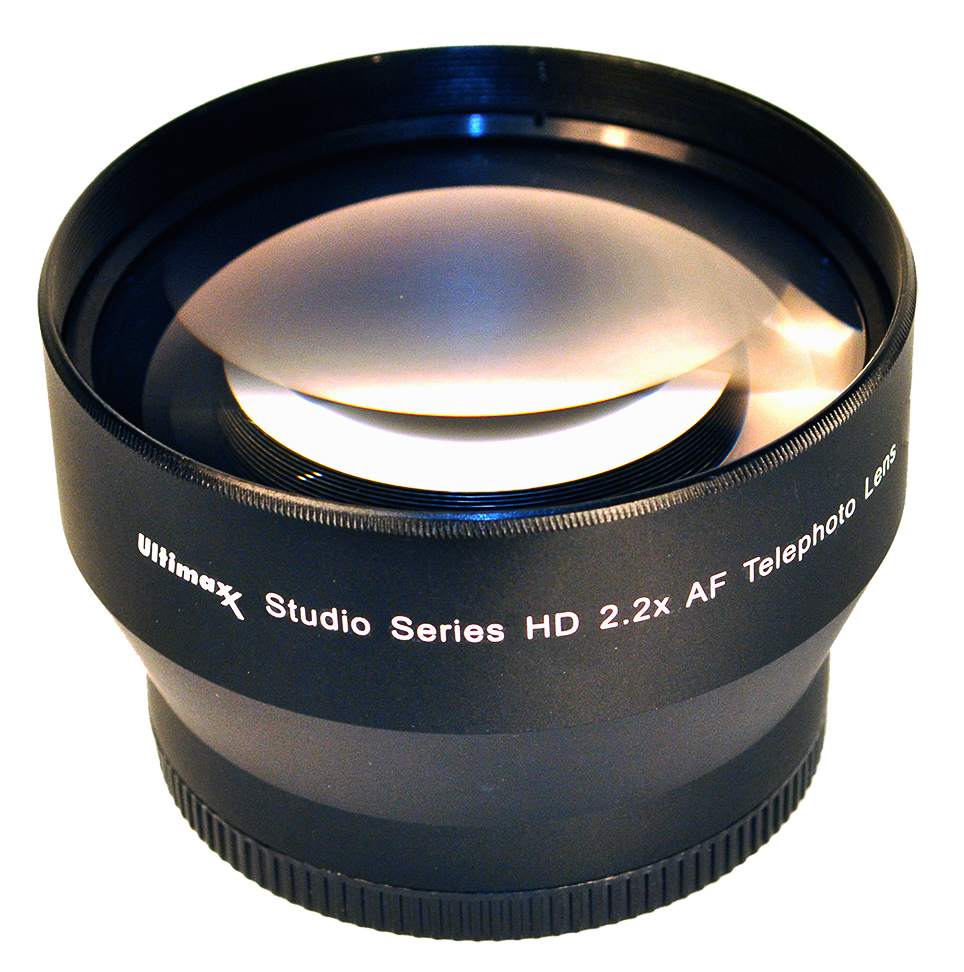 Ultimaxx 2.2X67 TELEPHOTO LENS