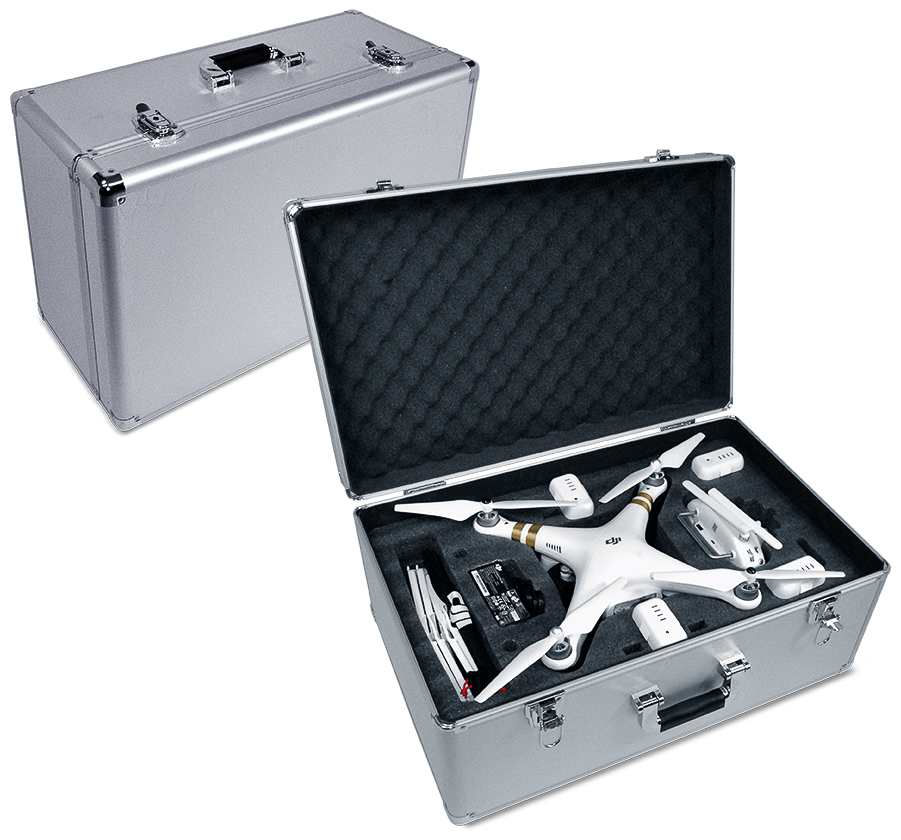 Ultimaxx DJI ALUMINUM HARD CASE FOR ALL PHANTOMS