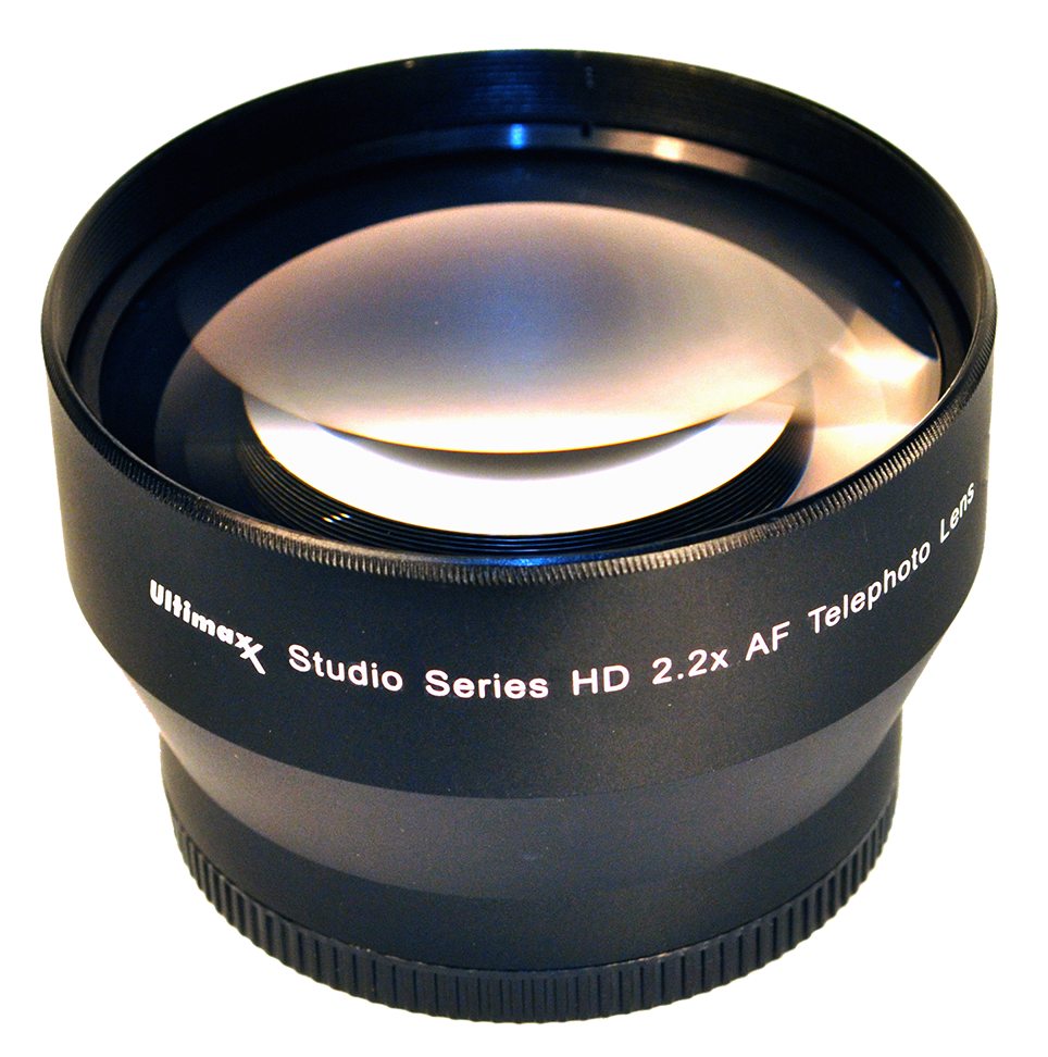 Ultimaxx 2.2X55 TELEPHOTO LENS