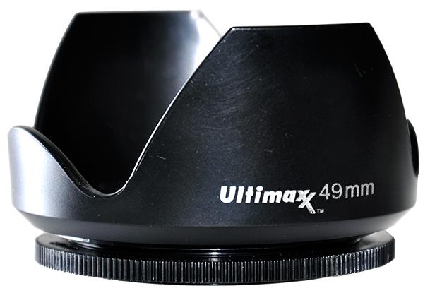 Ultimaxx TULIP LENS HOOD 49mm