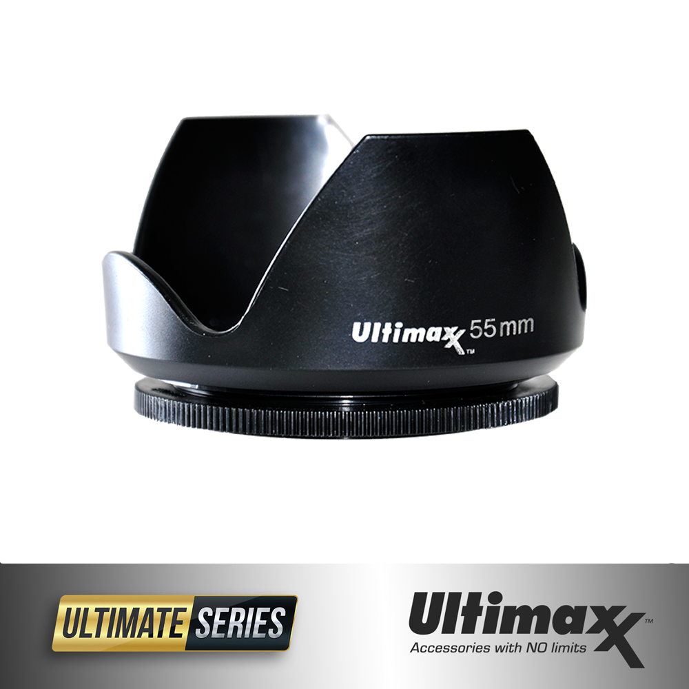 Ultimaxx TULIP LENS HOOD 55mm