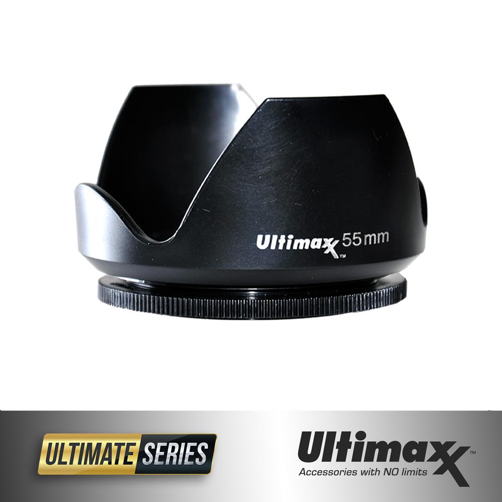 Ultimaxx TULIP LENS HOOD 55mm