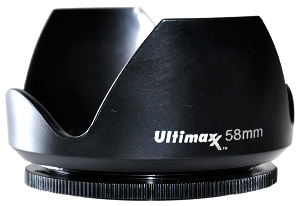 Ultimaxx TULIP LENS HOOD 58mm