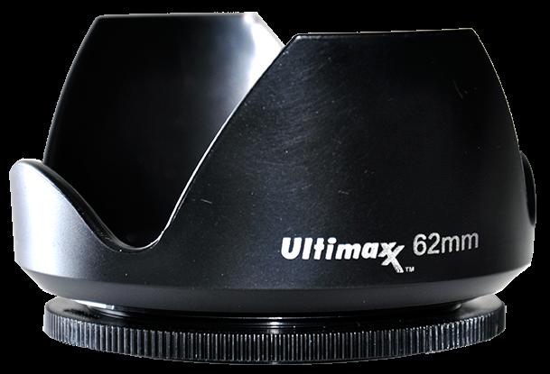 Ultimaxx TULIP LENS HOOD 62mm