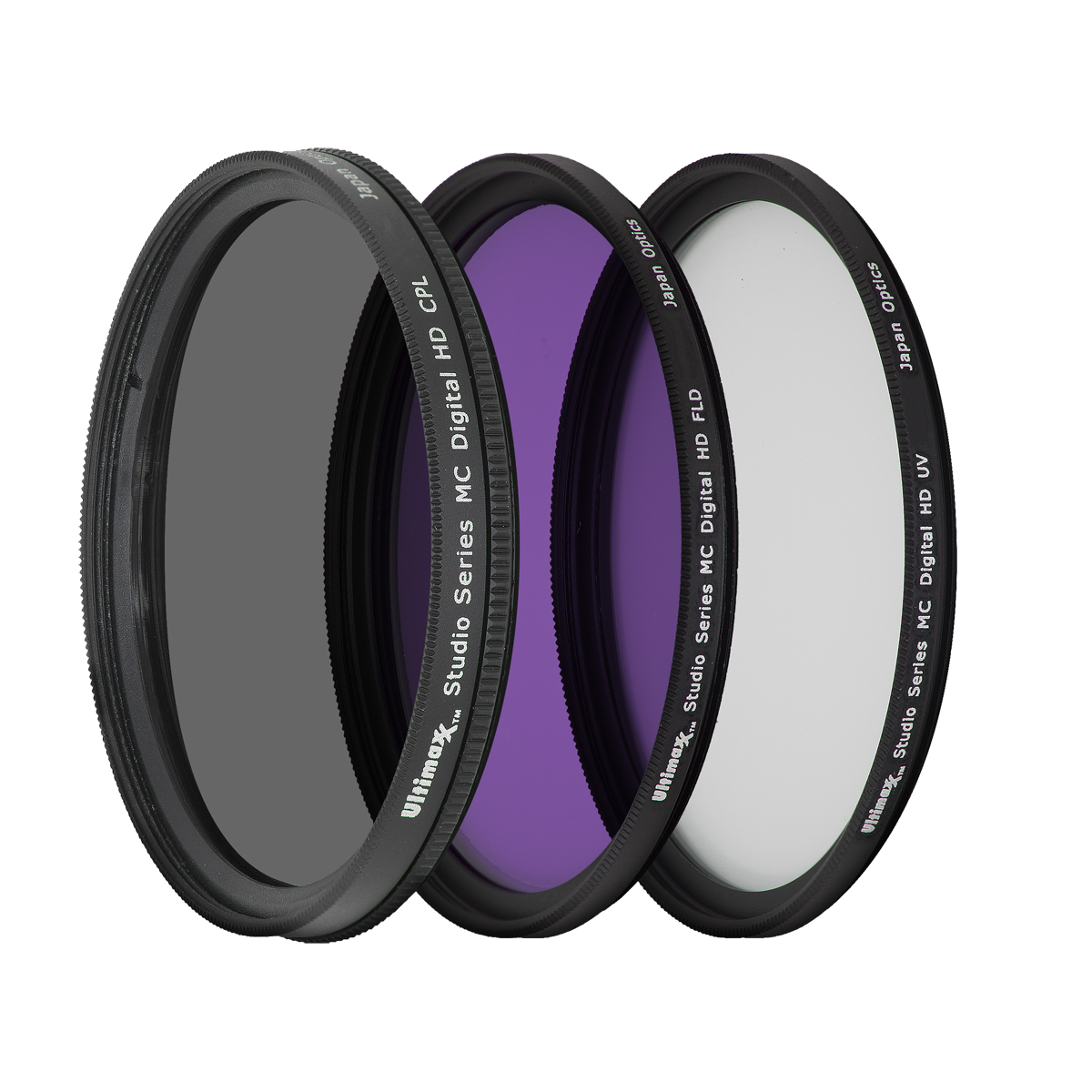 Ultimaxx 55mm 3PC FILTER KIT