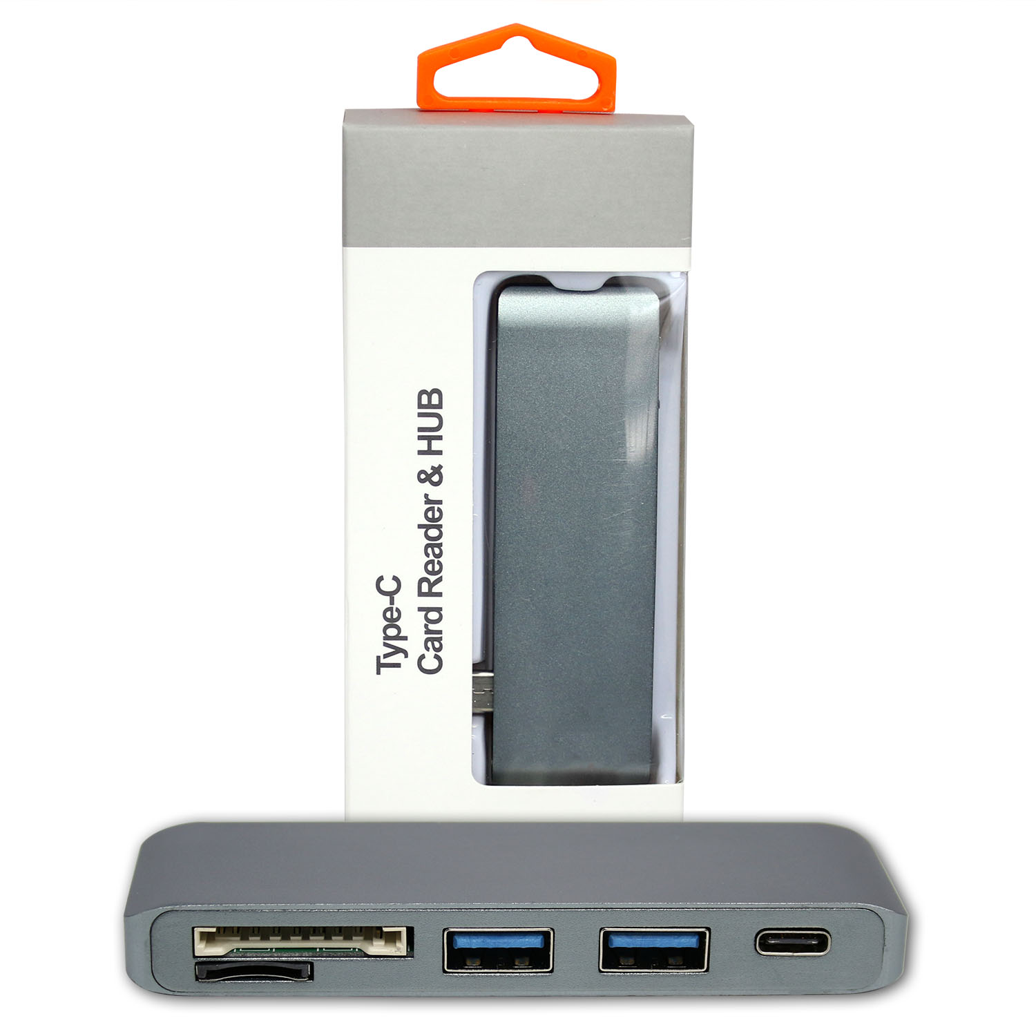 Ultimaxx USB 3.0 TYPE-C HUB-GR