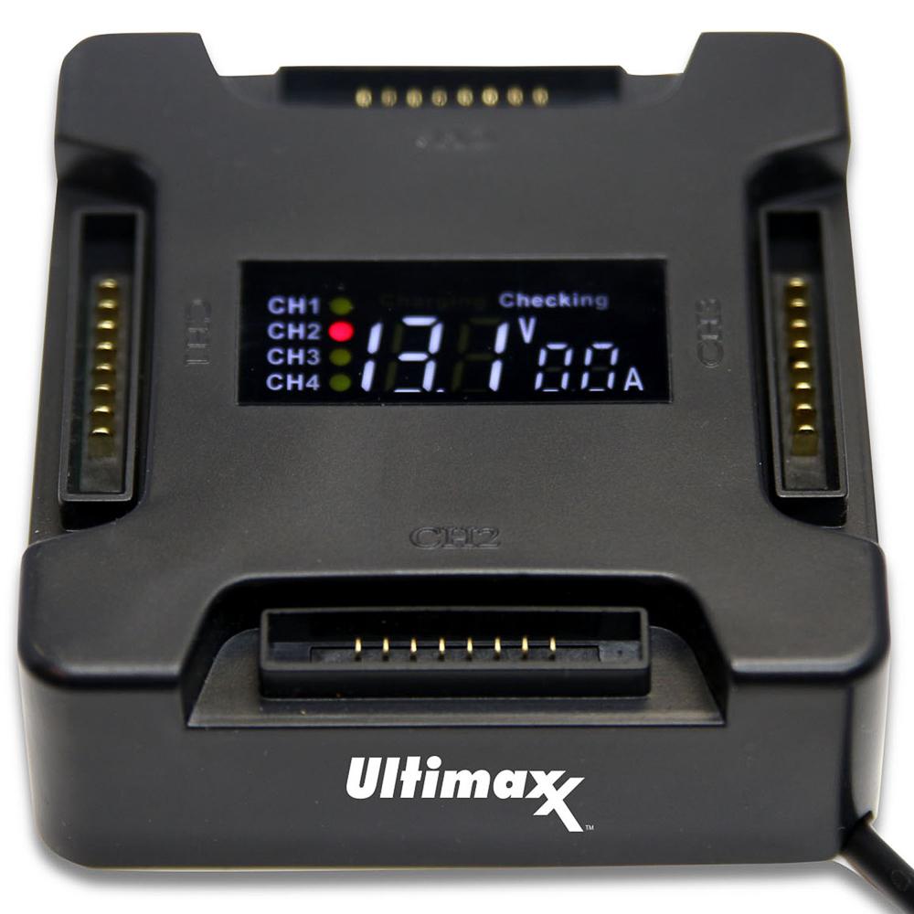 Ultimaxx Battery Charging Hub for DJI Mavic PRO with LCD Screen