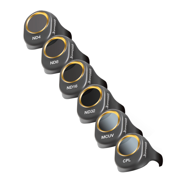 Ultimaxx 8 Piece DJI Spark Lens Filter Kit
