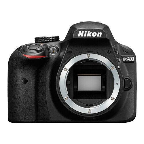Nikon D3400 DSLR Camera Body (