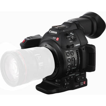 Image of Canon EOS C100 Mark II Cinema EOS Camera With Dual Pixel CMOS AF (Body Only)