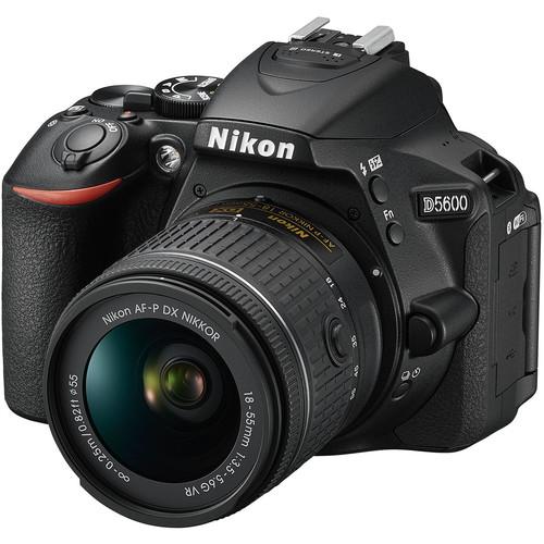Nikon D5600 DSLR Camera with 1