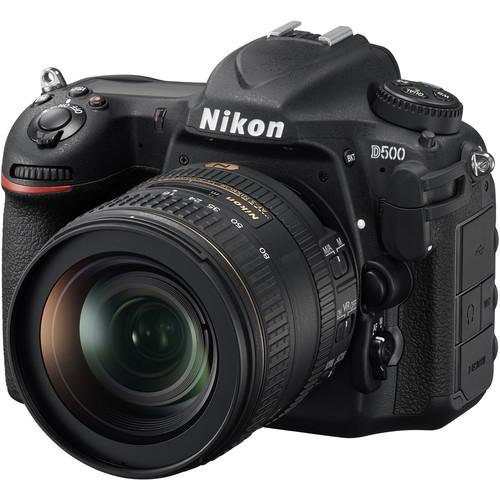 Nikon D500 DSLR Camera with 16