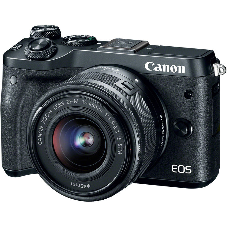 Canon EOS M6 Mirrorless Digita