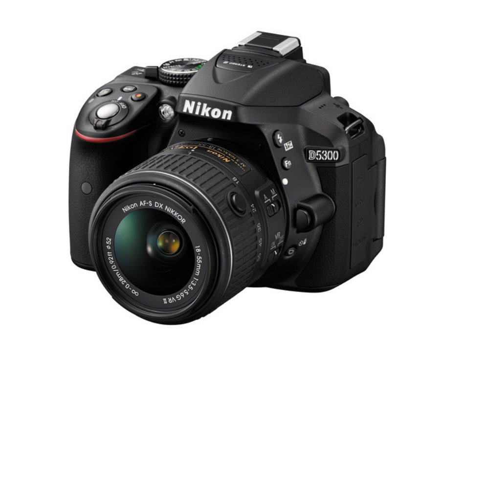 Nikon D5300 DSLR Camera with A