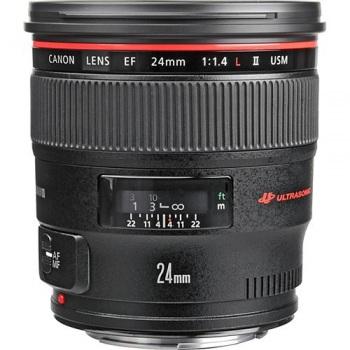 Canon EF 24mm f/1.4L II USM Le