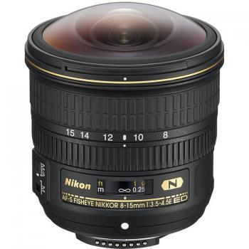 Nikon AF-S Fisheye NIKKOR 8-15