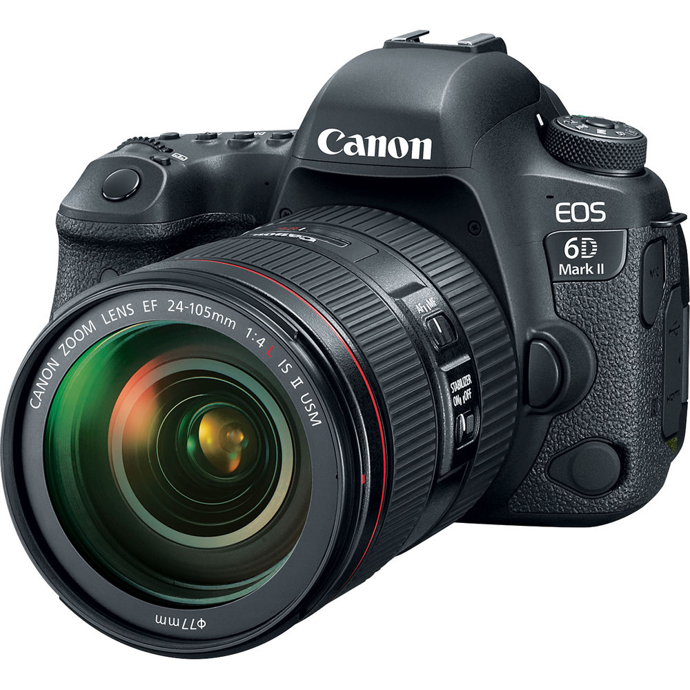 Canon EOS 6D Mark II DSLR Camera with 24-105mm f/4L IS II USM Lens