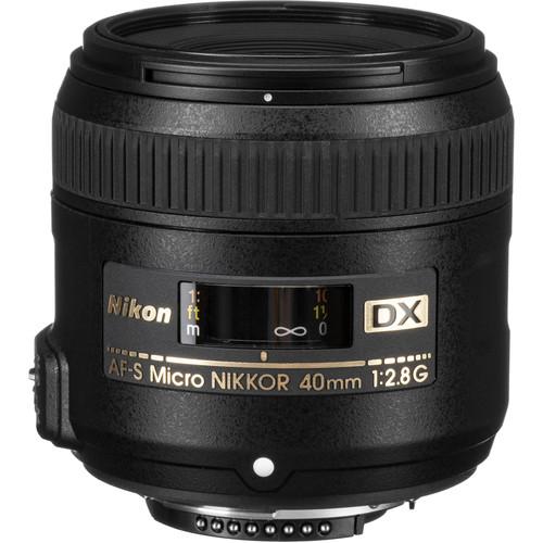 Nikon AF-S DX Micro-NIKKOR 40m