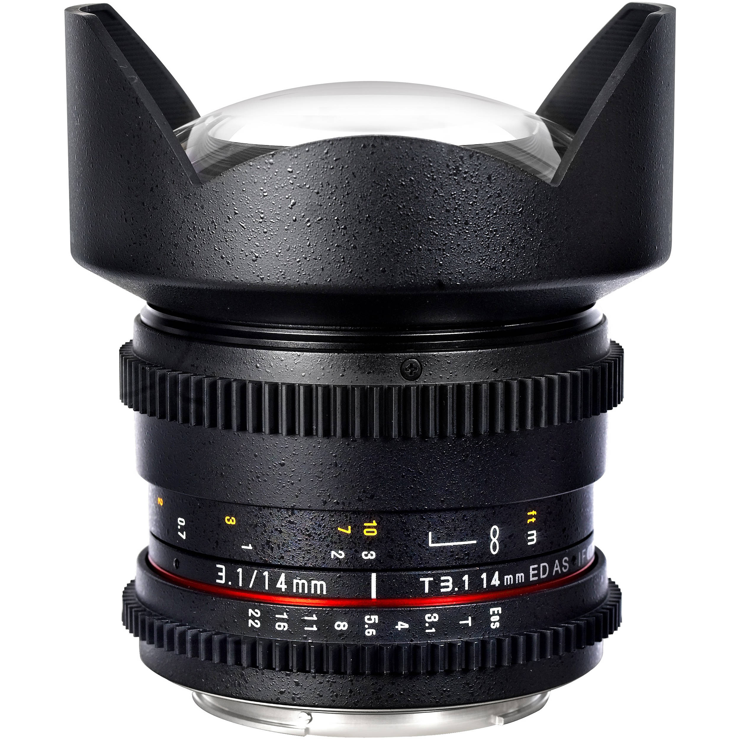 Samyang 14mm T3.1 Cine Lens for Canon EF-Mount