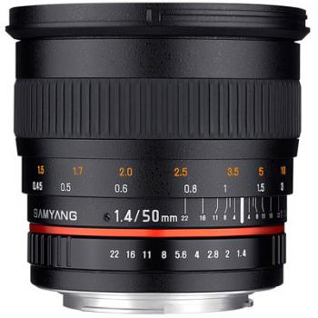 Samyang 50mm f/1.4 AS UMC Lens for Canon EF