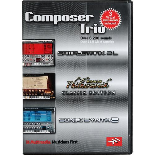 IK Multimedia Composer Trio Bu
