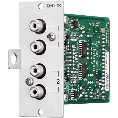 TOA Electronics DUAL MIC/LINE