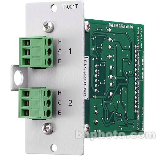 TOA Electronics DUAL LINE O/P MODULE, RTB
