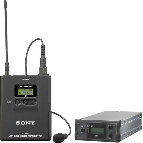 Sony Professional Lav Mic, Bod