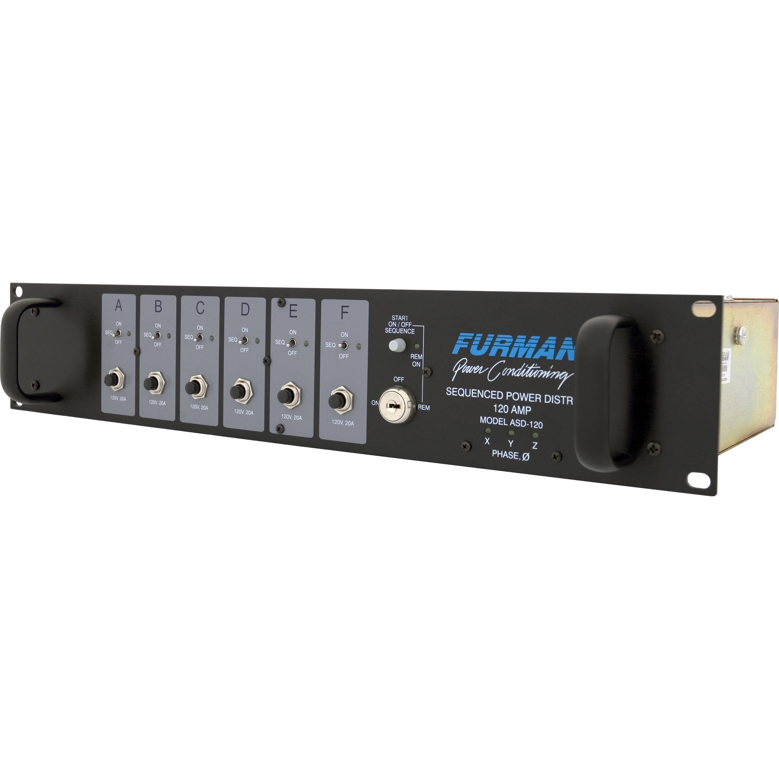 Furman 6-Channel Power Distrib