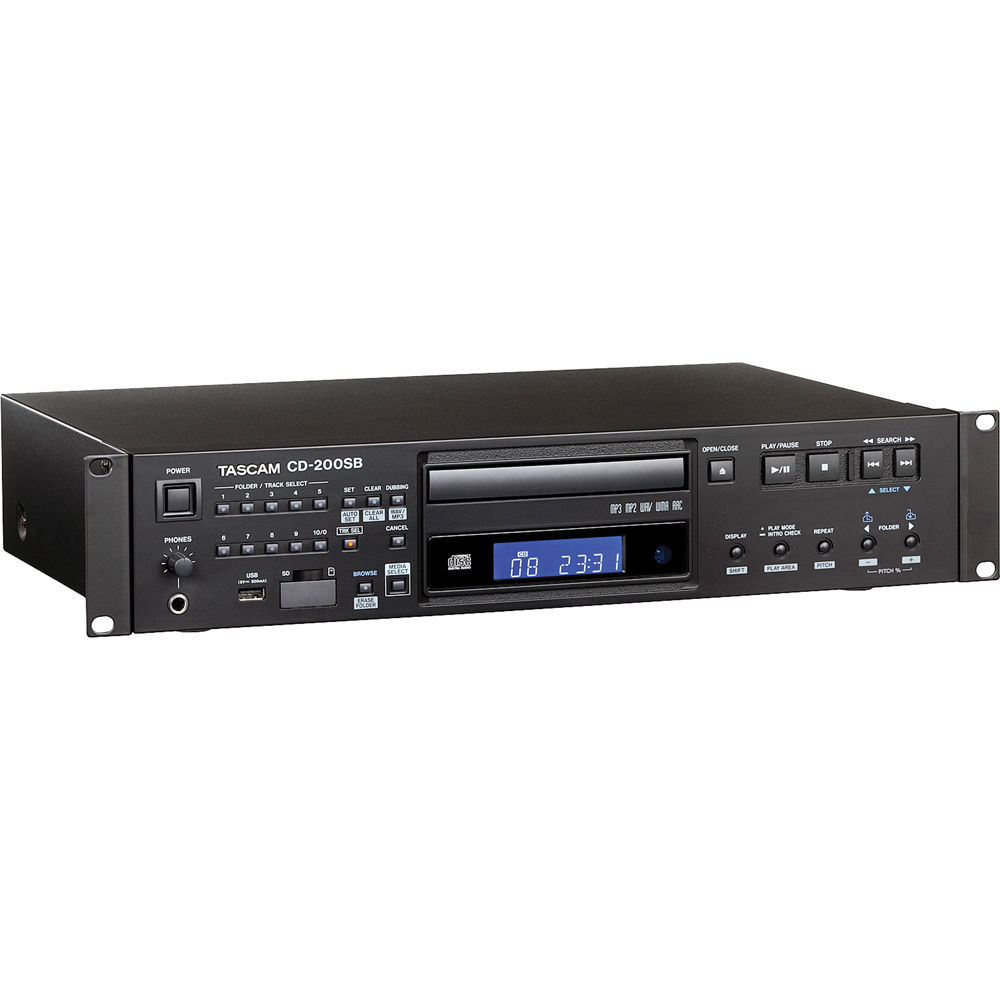 Tascam CD/SD/USB Player with S