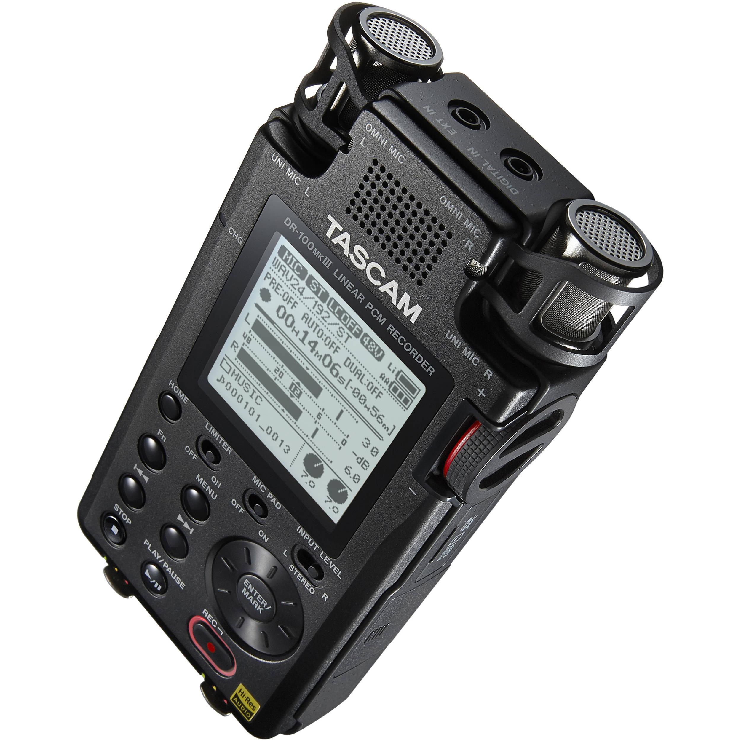 Tascam 24-Bit Stereo Portable