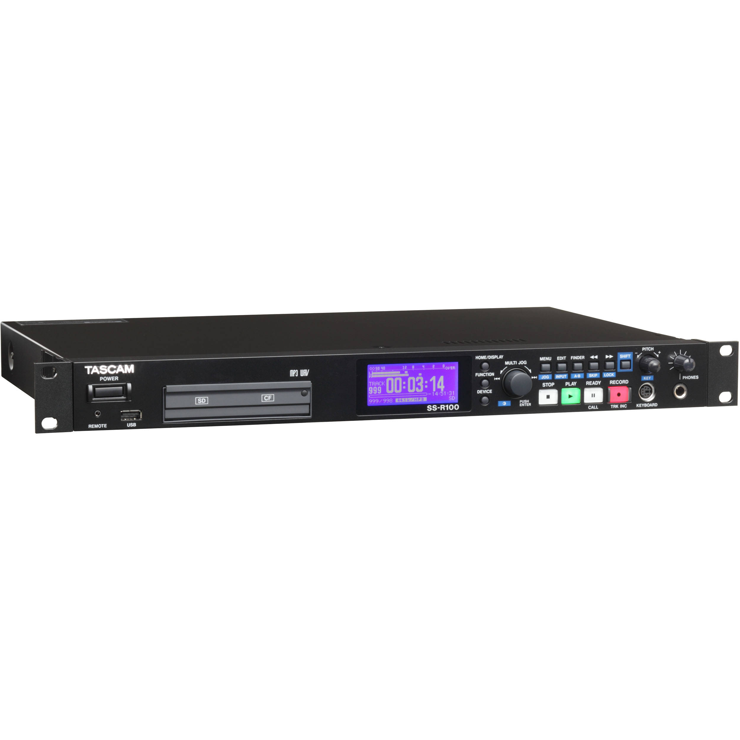Tascam Single-rackspace Solid