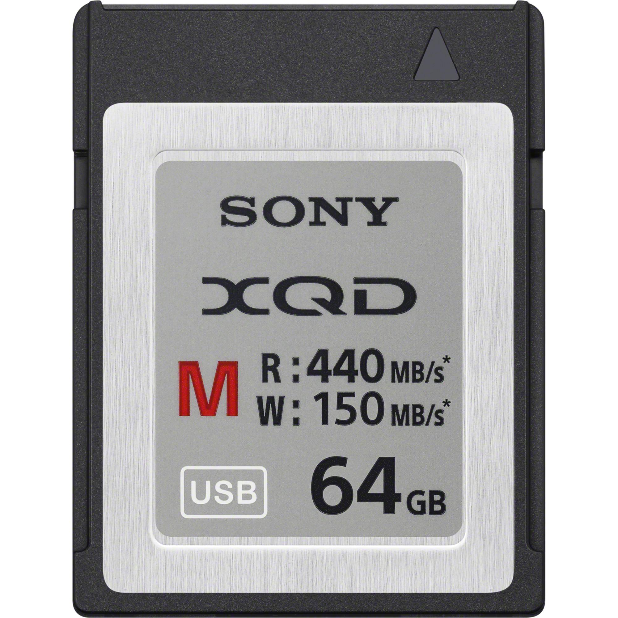 Sony Professional 64GB XQD Memory Card M Series