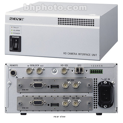 Sony Professional Optical Fibe