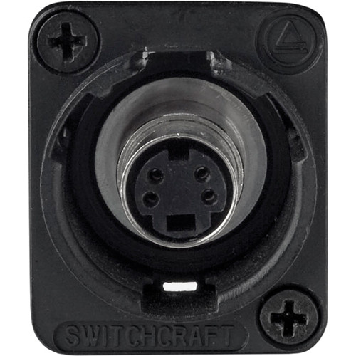 Switchcraft 4 Pin SVHS Female
