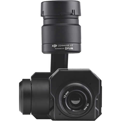 DJI Radiometry Temperature Camera for Zenmuse XT Gimbal (640 x 512 Resolution, 9 Hz, 13mm)