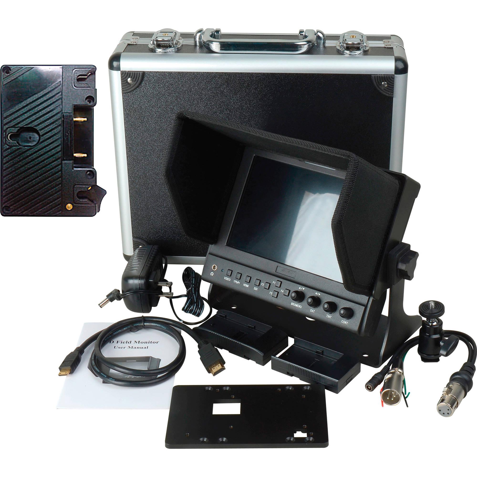 Delvcam 7 Inch Camera-Top Moni