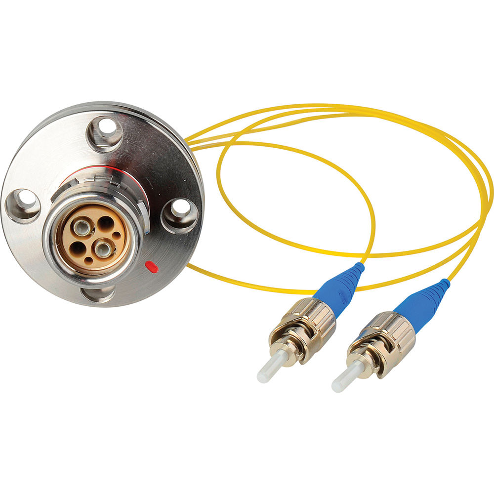 Camplex LEMO FXW to Dual ST Internal Fiber Optic Breakout Cable - 6 Inch